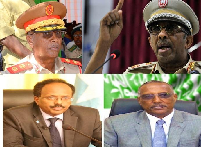 Gudaha:-Dagaalka Somaliland & Somalia Oo U Gudbay Dhinaca Millatariga iyo Taliyayaasha Ciidamada Labada Dal Oo Ku Kala Sugan Qatar iyo Imaaraatka.
