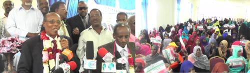 Daawo Xaflada Ilyartu Is Qabatay Oo Lagu Shaacinayay Prof Xasan Halas Oo U Tartamidoona Golaha Wakiilada Somaliland Oo Qabsoontay Boorama.