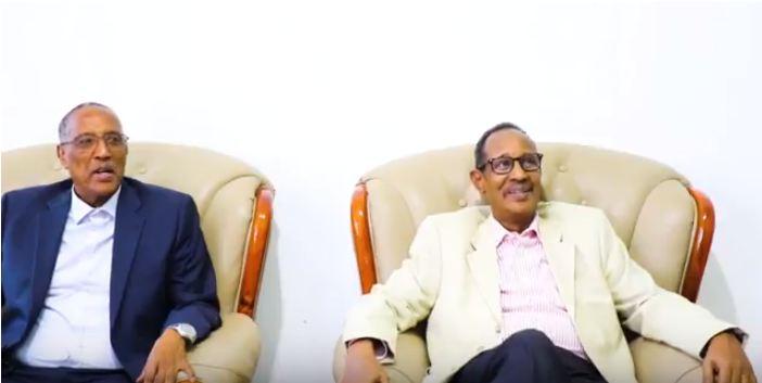 DAAWO Madaxweynaha La Doortay Ee Somaliland Muuse Biixi Cabdi Oo Gurigiisa Ku Qaaliya Madaxweyanahi Hore Ee Somaliland Daahir Riyaale.