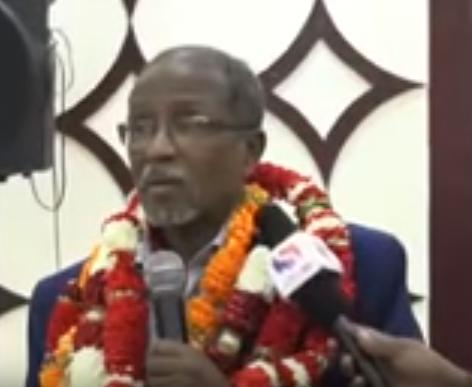 Daawo:Cali Khaliif Oo Hambalyo U Diray Shacbiga Somaliland, Munaasibada Ciidda Awgeed