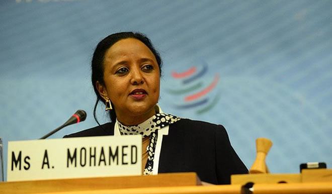 Doodii Ugu Xiisaha Badnayd Oo Shalay Ka Dhacday Xarunta Midowga Afrika Ee Addis Ababa.