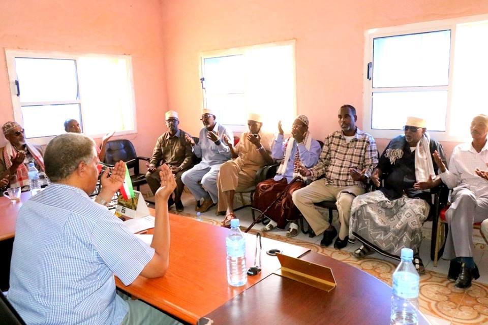 Wasiirka Madaxtooyada Somaliland Oo Kulan La Qaatay Gudida Nabad Gelyada Gobolka SANAAG Iyo Nuxurka Qodobada Uu Kala Hadlay+Sawiro
