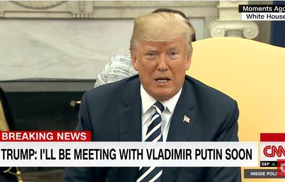 Caalamka:- Trump Oo Madaxweyne Putin U Hanbalyeeyey Doorashadii Uu Ku Guuleystay.