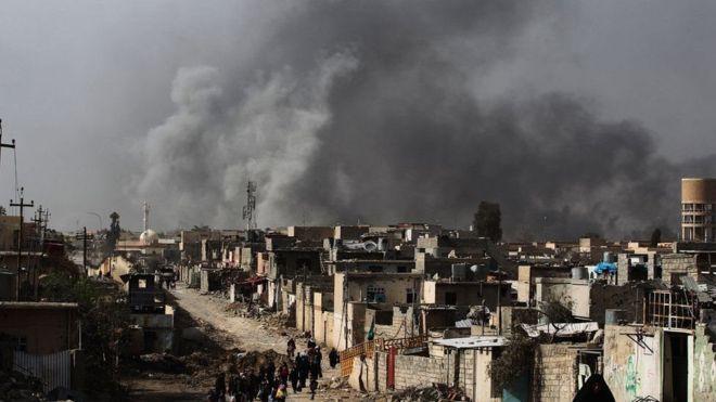 Maraykanka 'waa lawada layn doonaa dagaalameyaasha Dawladda Islaamka ee Mosul'