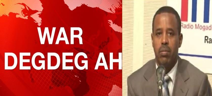 War Deg Deg:Dawlada Somaliya Oo Hada Si Adag Uga Hadashey Saldhig Military Ee Imaraadka Laga Siiyey Berbera Kuna Tilmaamtey ........
