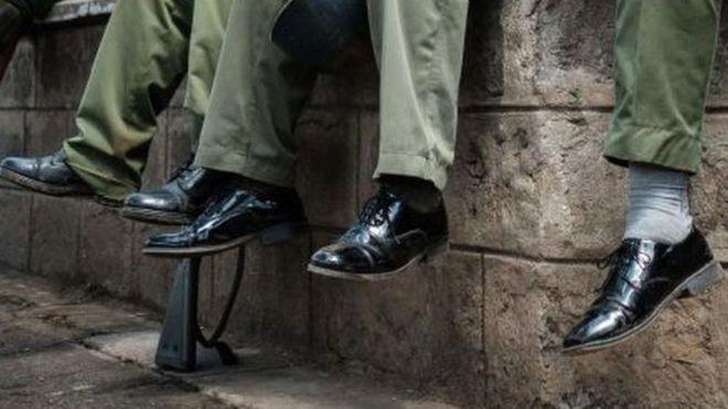 Fadeexad ka dhalatay kabaha booliska Kenya