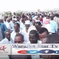 Daawo: Aas Qaran Loo Sameeyey Agaasimihi Wasaarada Shaqada Iyo Arimaha Bulshada Ee Somaliland Iyo Axsaabta Qarank Oo Ka Qayb Galay