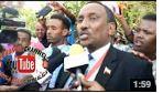 """Daawo:""""Ciro Waxa Uu Ku Talaabsaday Cadaalad Daradii Ugu Weyneed Somaliland""""Axmed Muumin Seed"""
