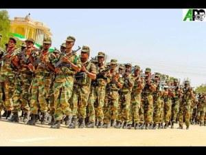 Daawo:Shacabka Gobolka Togdheer Oo Si Kal Iyo Laab Ah U Bogaadiyey Ciidanka Qaranka Somaliland Sida Ay U Sugaan Amaanka Guud Ee Xuduudaha Somaliland.