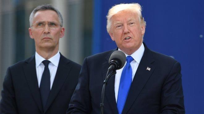Madaxweyne Trump Oo Dhaliilay Gaashaanbuurta NATO