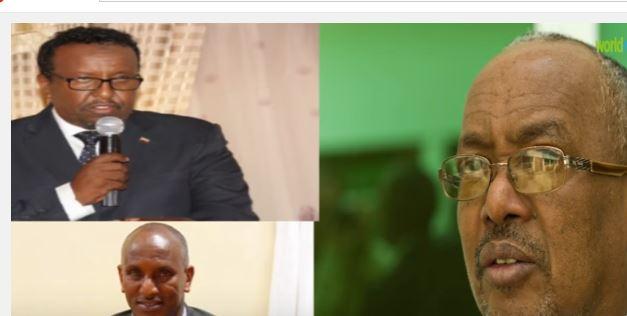 Daawo:Madaxwayne Ku Xigeenka Somaliland Oo Joojiyey Munaasabad Ay Xilka Kula Kala Wareegayen Wasiiro Ka Tirsan Xukuumada Somaliland