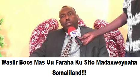 Wasiirka Biyaha Somaliland Xuseen Cabdi Boos Oo Mudooyinkii Udanbaysay Ku Jiray Firxad Iyo Dhuumasho+ Moogananta Gudida Daba Galka Hantida Qaranka.