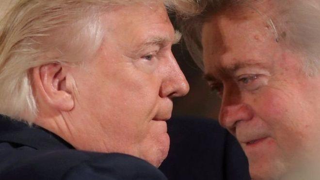 Trump Bannon maskaxdiisu siwanaagsan uma fadhido