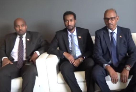 Duba:Daawo Wefti uu hogaaminayo Wasiirka Maalgashiga Somaliland oo Gaadhay Imaaraatka iyo Safiirka Somaliland oo so dhoweyey