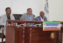 War Deg Deg Ah Golaha Wakiilada Somaliland Oo La Hor Geeyay Mooshin Ka Dan Ah Xil Ka Qaadista Maayirada Dalka.