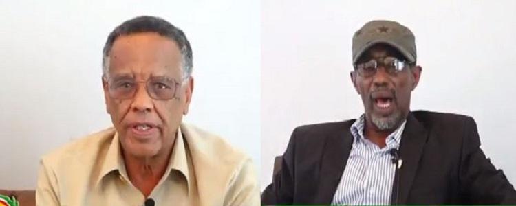 Hargeisa:- Gudoomiyaha Golaha Wakiilada Somaliland Iyo Wasiirka Hawlaha Guud Oo Baaq Nabadeed Diray.