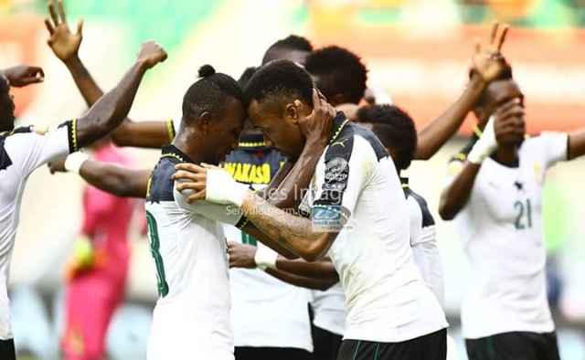 Xulka Qaranka Ghana Oo Iska Xaadiriyay Wareega Sideed Dhamaadka AFCON 2017 Iyo Asamoah Gyan Oo Mali Guuldaro Baday.