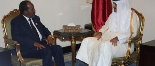 Madaxwaynaha Somalia Iyo Amiirka Qatar Oo Telefoon Kuwada Xidhiidhay