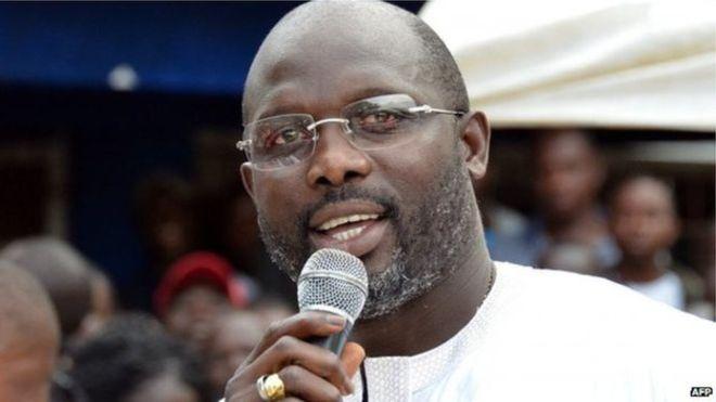 George Weah oo loo dhaarinaayo madaxtinimada dalka Liberia