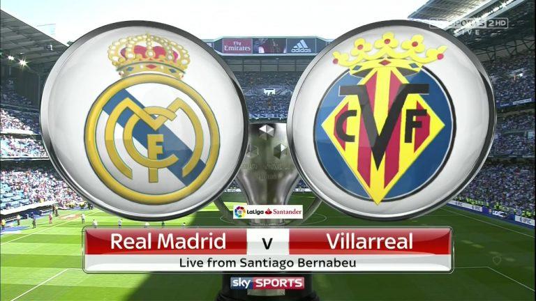 Shaxda Rasmiga Ah Kulanka Real Madrid vs Villarreal – Ronaldo & Bale Oo Kusoo Wada Bilowday.