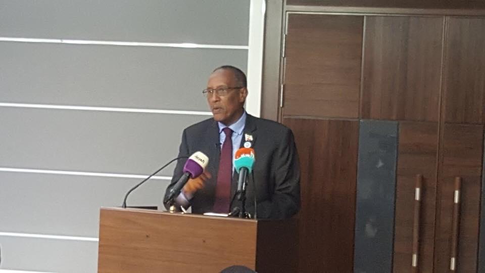 Madaxweynaha Qaranka Somaliland Md Muse Biixi oo Hadda Saxaafada Caalammka Kula Hadlaya Dubai