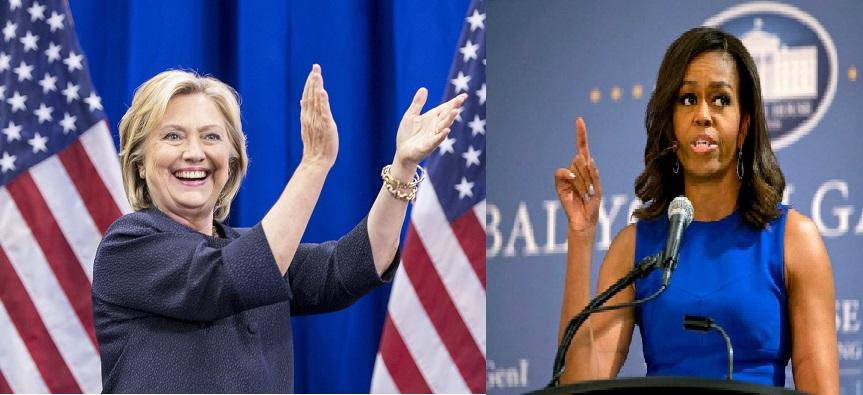 Xaaska Madaxwayne Obama Oo Tageero Buuxda Siisay Murrashax Hillary Clinton.