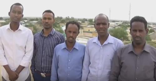 Daawo:Suxufiyiinta Gobalka Gabiley Oo Ka Hadlay Xadhiga Wariye Sakaaro Fariina Udiray Xukuumada Somaliland