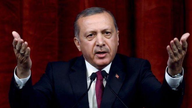Madaxweyne Erdogan Oo Difaacay Hawlgalka Ciidamada Turkigu Ka Wadaan Gudaha Suuriya.