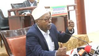 Daawo;Wasiirka Boosaha Oo Golaha Wakiilada U Jeediyay Khudbad Uu Kaga Hadlayo Sidii Loo Midayn Lahaa Isgaadhsiinta Somaliland.