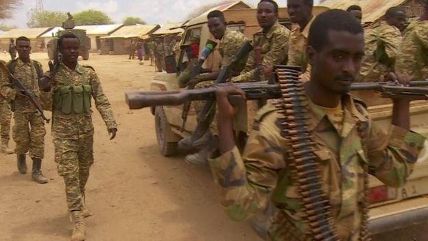 Taliska Militariga oo sheegay in ay bur buriyeen Idaacadii Al-shabaab ee Anduluus