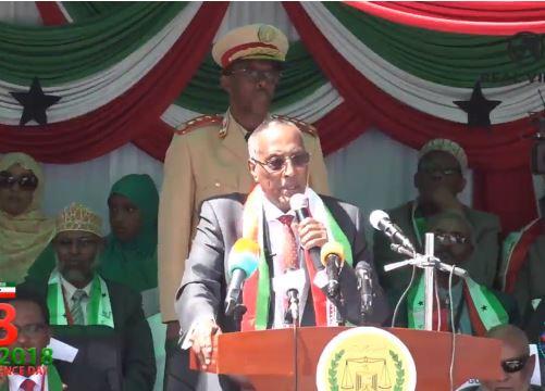 """Hargeisa:-""""23 Jeer Bay Saddexdii Bilood Ee Ugu Danbeeyey Ay Na Soo Weerareen Ciidamada Puntland"""" Madaxweynaha Somaliland."""