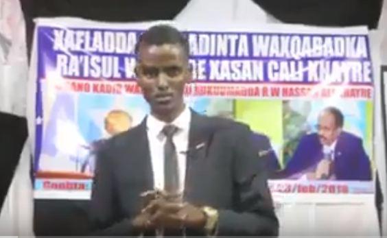 Somalia:- Madaxweynaha Maamulka Putland Oo Joojiyay Xaflad Lagu Taageerayay Raysal Wasaraha Somalia Iyo Madaxweyne Farmaajo+ Sababta.