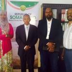 Dr Sacad Cali Shire iyo Guddiga Ictiraaf raadinta somaliland ee SWEDEN oo kulan ku yeeshay Hargeysa