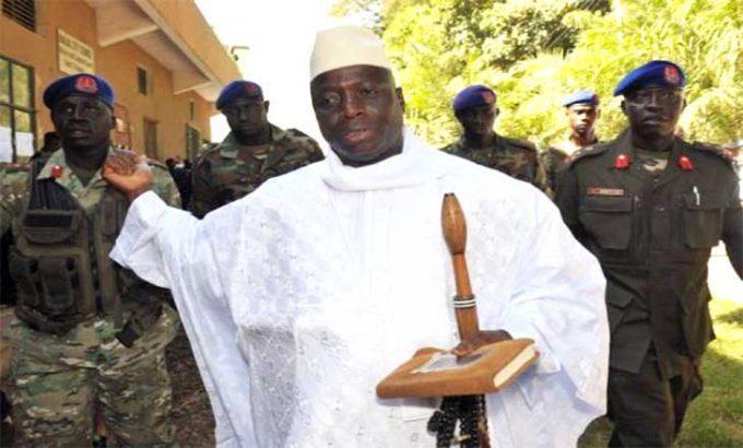 Daawo: Madaxweynihii Xukunka Ka Degay Ee Gambia Yahya Jammeh Oo Ka Baxay Madaarka Caasimadda Banjul