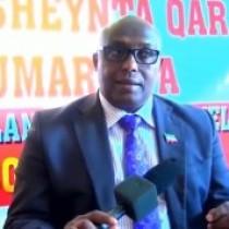 DAAWO Wasiirka Qorsheynta Somaliland Oo Soo Kormeeray Xafiiska Wasaarada Ee Gobolka Sanaag.
