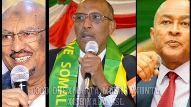 Live U Daawo Dooda Caawa Ee Dhexmaridoonta Sadexda Musharax Ee Somaliland