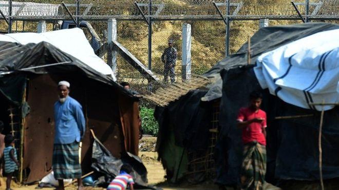 Myanmar:- Qaxootigii ugu horreeyay ee Muslimiinta Rohingya oo ku laabtay Myanmar.