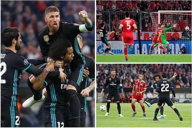 Ciyaao:-Real Madrid Oo Dhulka La Dhacday Bayern Munich Oo Joogta Garoonkeeda